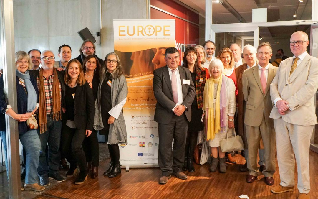 (English) The final conference of the EUROPE project: Quiet Time with the Trascendental Meditation programme for promoting social inclusion and increasing the well-being of students and teachers